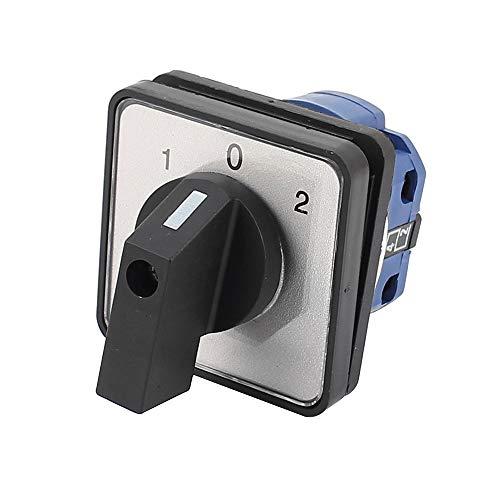 Haobase AC 690 V 20 A 3 posiciones 1/0/2 interruptor giratorio de levas