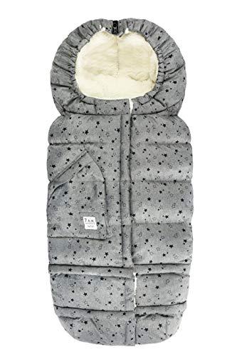Best Bargain 7 A.M. Enfant Blanket 212 evolution (Heather Grey Stars)