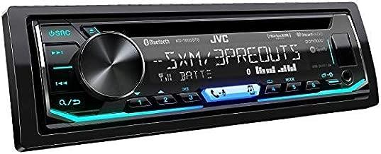 JVC KD-T805BTS CD Receiver Featuring Bluetooth/USB/SiriusXM/Pandora/iHeartRadio/Spotify / 13-Band EQ