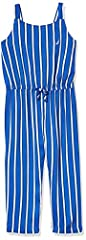 Features Our girls jumpsuits feature solid & stripes, off the shoulder fit & spagheti straps all vary by style Works well with sandals or sneakers for a trendy look. Perfect for casual wear, or dress wear Comfortable fit We've used high quality and s...