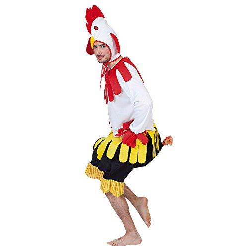 Fyasa 700272-t04 Cock Costume de déguisement, Grande