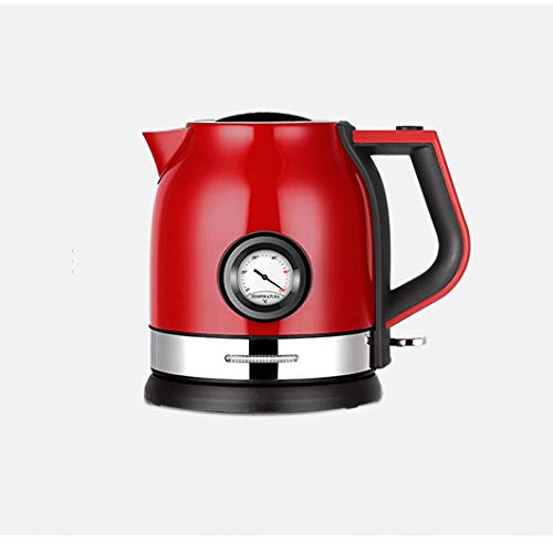 SSHDX Stainless Steel Electric Kettle Household with Water Temperature Control Meter Quick Heating Boiling Tea Pot (Color : A)