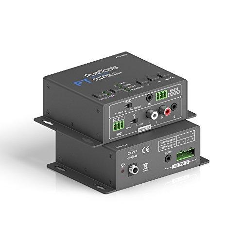 PureTools AA220 Amplificador de audio 40W (70V / 100V), 3x Line In,...
