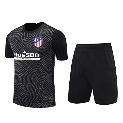 LQRYJDZ Atlético Madrid Fútbol Entrenamiento de fútbol Camiseta de fútbol de fútbol, pantalones cortos y camisetas Pantalones cortos Kit deportivo Traje de entrenamiento Transportable Sportswear Jer