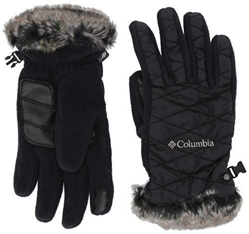 Columbia Women's Heavenly Glove, Black, Large
