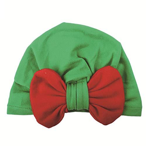YOUGANT Kerst Hoed Baby Kerstmis Coltrui Hoed Fluweel Kleur Knoop Koepel Hoed Kerstmis Party Props D