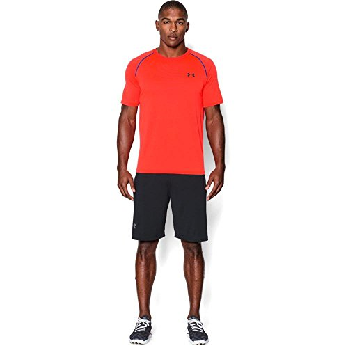 Under Armour Ua Tech Ss Tee Herren Fitness - T-Shirts & Tanks, Orange Bonfire, XXL