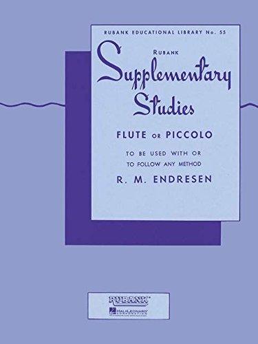 Supplementary Studies: Flute (Rubank Educational Library