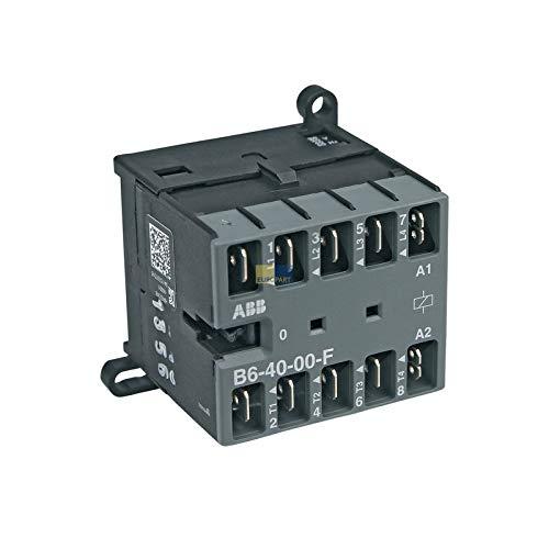 LUTH Premium Profi Parts Kleine contactor ABB B6-40-00-F Miele 3234125 voor vaatwasser Wasmachine