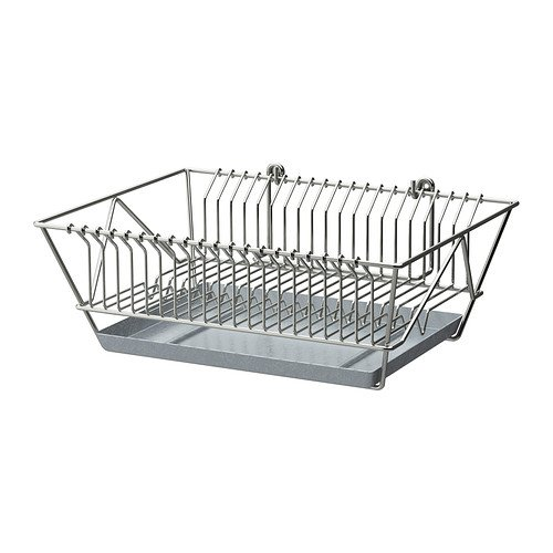 Ikea FINTORP -Abtropfgestell vernickelt - 37.5x29x13.5 cm