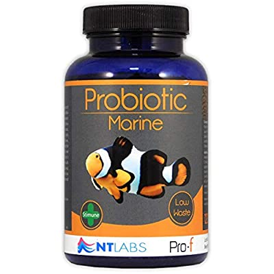 NT Labs Pro-f Probiotic Marine 120g Fish Food, 0.8-1.5mm Granules