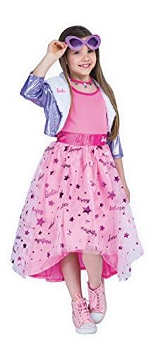 Ciao 11655.5-7 Barbie Diva Disfraz de Princesa Disfraz de Niña Original (Talla 5-7 Años)