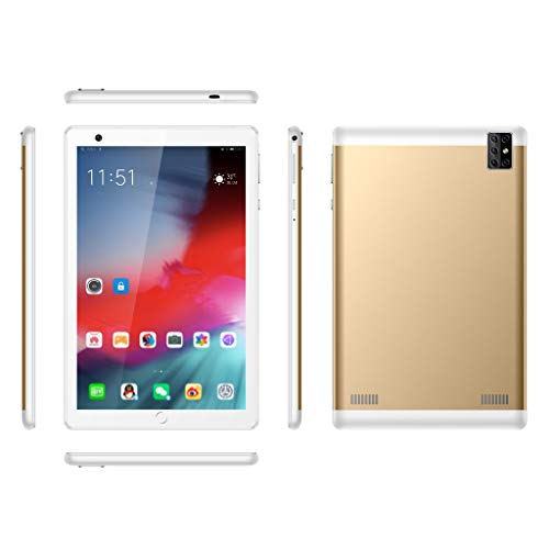 DZWSD 8 inch Android Tablet PC with Octa-Core CPU,WiFi,Dual SIM Cards Slot,Bluetooth 4.0,GPS,16GB,32GB,64GB,128GB,Red,Golden,Green,Black,Silver.