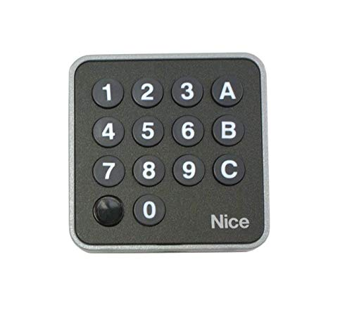 Nice Apollo EDSWG/A Wireless Digital Keypad Garage Gate Openers battery-powered
