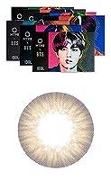[2枚入り] BTS ディエヌエイ&アイドル(BTS DNA&IDOL) by OLENS カラコン 1ヶ月 マンスリー 度あり度なし 14.2mm BTSカラコン 防弾少年団 (アイドルマイセルフヘーゼル(IDOL HZ), PWR: -3.25)