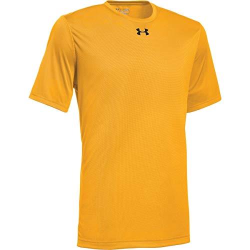 Under Armour Men's UA Locker 2.0 T-Shirt (Small, Steeltown Gold-Black)