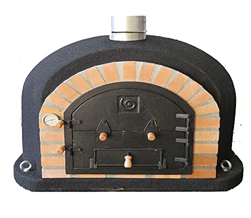 Superior Wood Fired Pizza Oven Black (1), 100cm