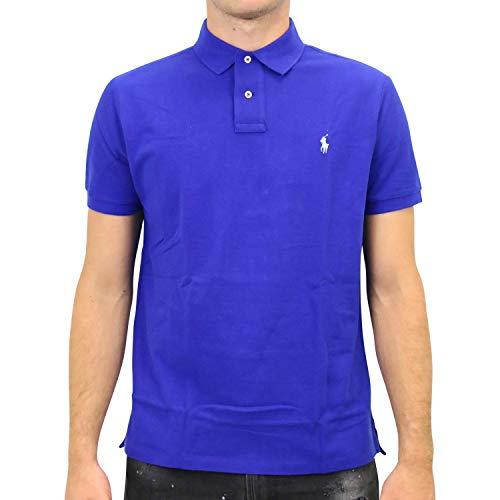Ralph Lauren Herren Poloshirt Blau S