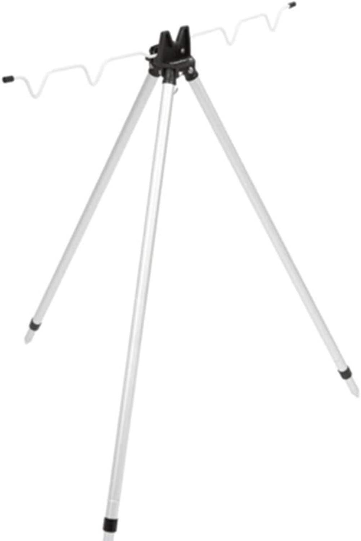 Telescopic Rods Fishing Rod Bracket Aluminum Alloy Telescopic Bracket Sea Fishing Folding Triangle Bracket Fishing Tools Positioning Bracket (color   Silver, Size   120cm)