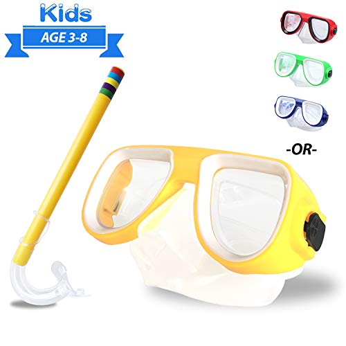 Kids Snorkel Set Junior Snorkeli...