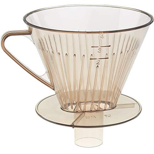 Westmark Stutzen-Kaffeefilter/Filterhalter, Filtergröße 4, Für bis zu 4 Tassen Kaffee, 24452270