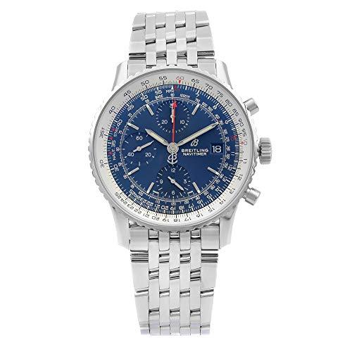 Breitling Navitimer 1 Cronógrafo 41mm Acero Esfera Azul Reloj para Hombre A13324121C1A1