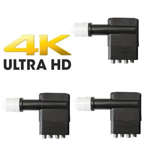 Megasat 3X Multifeed Quad LNB 0.1 db 4K UHD tauglich
