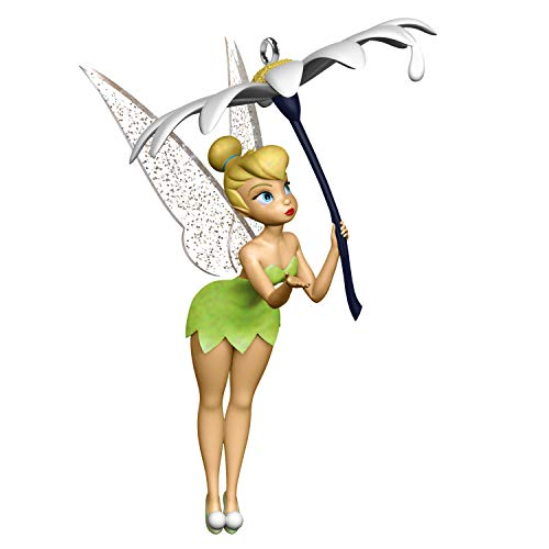 Hallmark Keepsake Christmas Ornament 2020, Disney Peter Pan Tink's Rain Check Tinker Bell