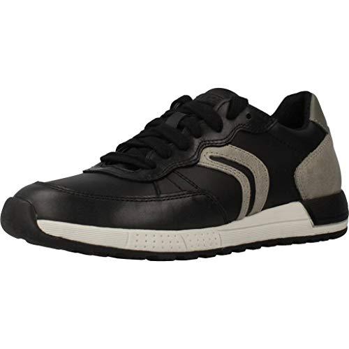 Geox Laufschuhe Jungen, Farbe Schwarz, Marke, Modell Laufschuhe Jungen J949ED Schwarz