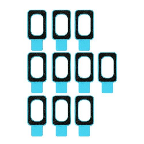 Liaoxig Sony Spare 10 STÜCKE for Sony Xperia Z2 & Z3 Kopfhöreranschluss wasserdichte Selbstklebende Aufkleber Sony Spare