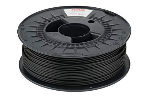 NuNus ABS Filament 1kg für 3D Drucker MakerBot RepRap MakerGear Ultimaker uvm. (schwarz, 1,75mm)