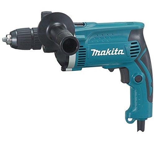 Makita HP1631K - Taladro Percutor 710W 1.9 Kg 3200 Rpm Portabrocas Auto