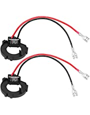 Akozon 2pcs H7 LED Soporte de retenedor de adaptador de bombillas de faros para Golf MK7