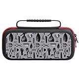 Salon Haircut Barber Comb Vintage Nintendo Switch Carry Case Hard Shell Cover with 20 Games Cartridges Pouch Inner Storage Bag Nintendo Switch Console & Accessories