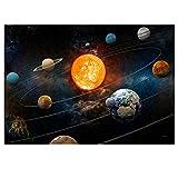 LANA KK Weltall Poster - Sonnensystem - Universum,