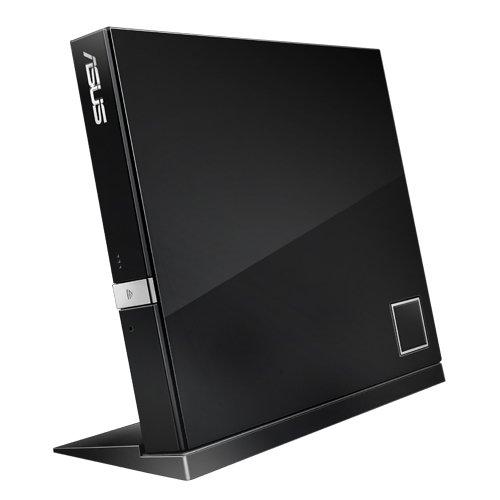 ASUS SBC-06D2X-U EXT. Slim Blu-Ray BDXL Combo 6X BD-R Lesen 8X DVD±R 6X DVD±R DL 5X DVD-RAM USB 2.0 inkl. Cyberlink Power2