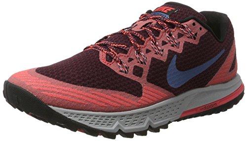 Nike Herren AIR Zoom Wildhorse 3 Traillaufschuhe, Mehrfarbig (Kastaniennacht/Ember Glut Orange/Schwarz/Ozean Nebel Blau), 41 EU