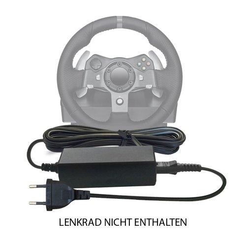 Ersatz DC 24V / 24 V Volt Netzteil, Netzadapter, Netzanschluss für Xbox 360, One Microsoft, Sony PS2, PS3, PS4 Playstation, Logitech G25, G27, G29, G920, G940 Racing Steering Wheel Controller Pedals