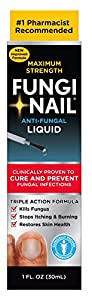 Clinically Proven: Clinically proven to Cure and Prevent fungal infections. Eliminates toe & foot fungus with maximum strength medicine. Pinpoint applicator delivers the fungus treatment around infected areas, stopping fungus from spreading Anti-Fung...