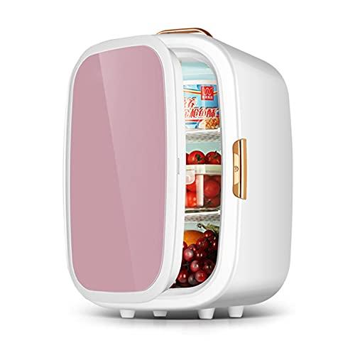 JQAM Mini refrigerador para Maquillaje, Cuidado de la Piel, refrigerador Compacto de 20 l con asa, refrigerador y Calentador Compacto de Gran Capacidad para Dormitorio, Oficina, automóvil