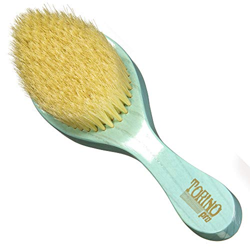 Torino Pro Soft Curved Wave Brush #1950- Curved Soft Hair Brush for...
