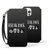Iphone 12/12 Pro/12 Mini/12 Pro Max ケース One Ok Rock Oor ワンオケロック ワンオケ アイフォン12 手帳型 財布型 スマホカバー スマホケース 保護ケース カード収納 カバー マグネット式 ストラップ付き スタンド機能 レザー 全面保護 耐衝撃 かわいい