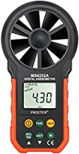 Proster Handheld Anemometer Portable Wind Speed Meter CFM Meter Wind Gauge with LCD Backlight for Weather Data Collection Outdoors Sailing Surfing Fishing