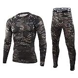WINDCHASER ESDY Sous-vêtements thermiques fonctionnels pour homme Sous-vêtements de...