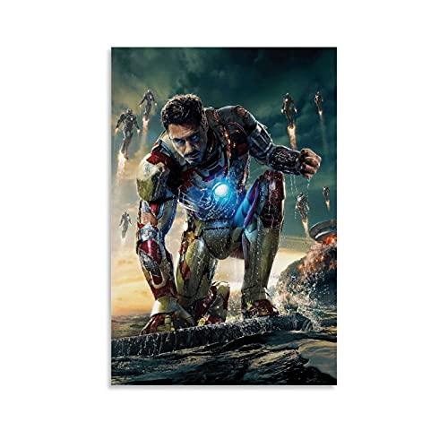 Iron ManPoster - Lienzo decorativo para pared (40 x 60 cm)