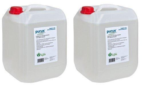 Purux Speiseessig 20 Liter Tafelessig Essig Lebensmittelqualität