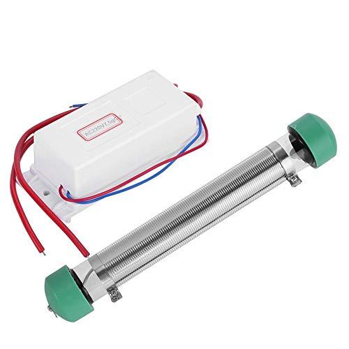 Zunate Generador de ozono, AC 220V Ozonizador de Tubo Profesional portátil, 7.5g/H...