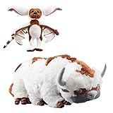 Avatar Last Airbender 18' Appa & 11' Momo Plush Toy Soft Stuffed Animals Dolls 2PCS