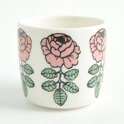 marimekko マリメッコ VIHKIRUUSU ヴィヒキルース コーヒーカップ (ラテマグ スモール) 【1個】/ピンク