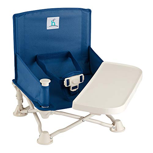 hiccapop Omniboost Travel Booster Seat with Tray for Baby | Folding...